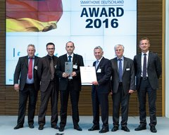 Smart Home Dutschland Award 2016 para Elsner Elektronik