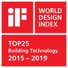 iF World Design Index Top 25 2015-2019