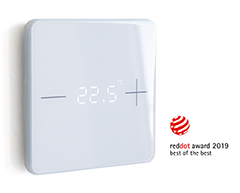 "Press release and pictures ""KNX eTR 101 wins Red Dot Award"""
