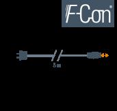 Netzanschluss-Leitung 5 m STAK3