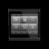 Corlo Touch KNX (WL), schwarz/schwarz matt