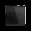 Corlo M1-T Einfach-Taster, schwarz/schwarz matt (70339)