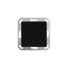 KNX AQS/TH-UP gl, schwarz (70625)