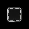 KNX TH-UP gl, schwarz (70622)