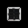 Cala KNX MultiTouch T Light/Sunblind, schwarz RAL 9005 (70892)