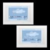 KNX Touch One Style, Wetter-Anzeige Regen/Schnee