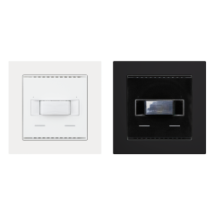 KNX T-L-Pr-UP Touch, pure white RAL 9010