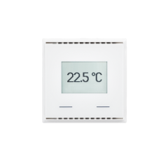 KNX T-UP Touch CH, pure white RAL 9010