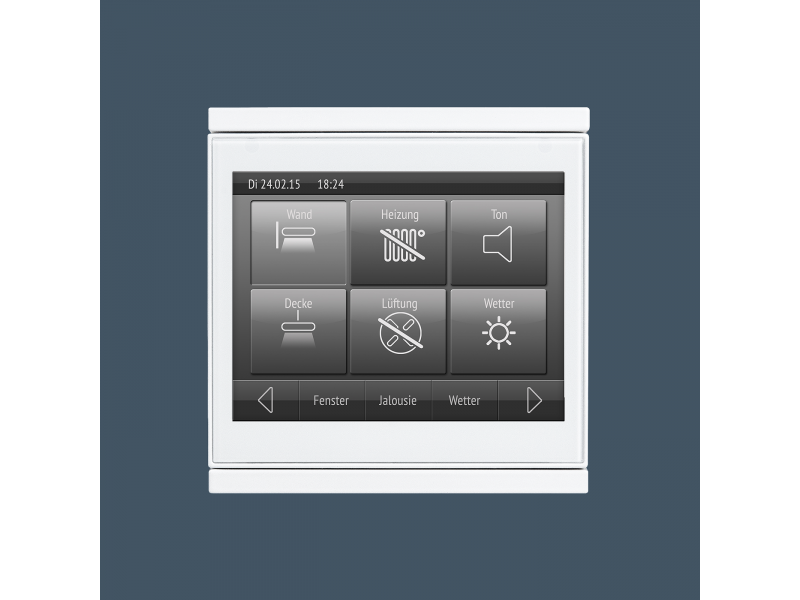 Corlo Touch Knx Displays And Operating Units Knx Bus System