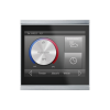 Corlo Touch KNX (WL), black/chrome matt