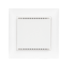 KNX T-UP gl CH white with frame (not included in the delivery)