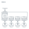WGGS-4 connection diagramm