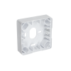 eTR Surface mount housing, white RAL 9003 (30190)