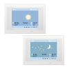 KNX Touch One Style, Weather display sun/night