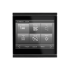 Corlo Touch KNX (WL), black/black matt