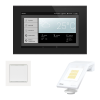 WS1000 Connect: control center, indoor sensor, weather station