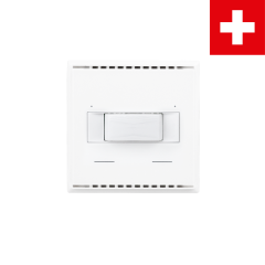 KNX T-L-Pr-UP Touch CH, blanc pur RAL 9010