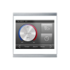 Corlo Touch KNX (WL), blanc/chromé mat