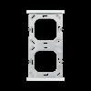 double, blanc mat (70414)