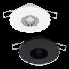 Modèles Intra-Sewi KNX T et TH blanc et noir