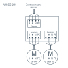 WGGS-2-H schéma de connexion