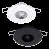 Modèles Intra-Sewi KNX L-Pr et TH-L-Pr blanc et noir