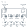 WG-N-GS-4 schéma de connexion