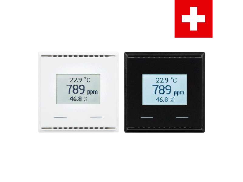 KNX AQS/TH-UP Touch CH