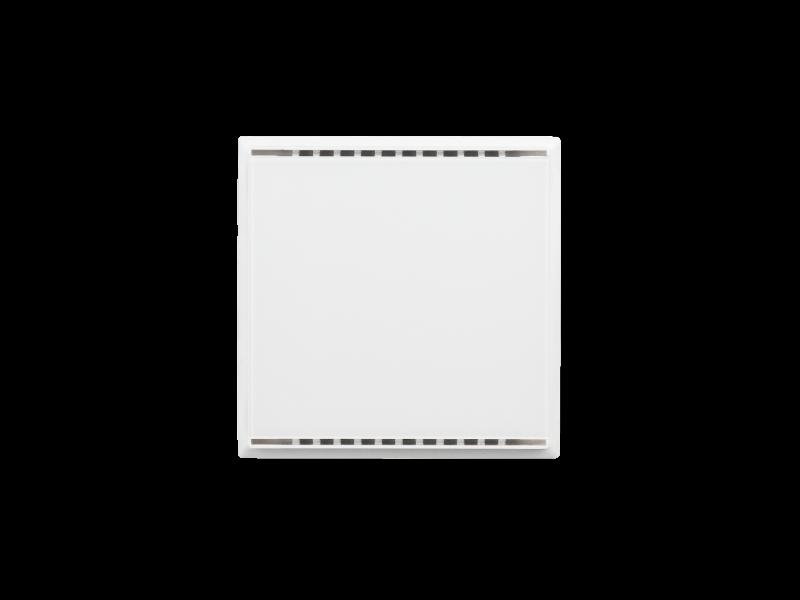 KNX AQS/TH-UP gl CH, bianco puro RAL 9010