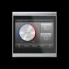 Corlo Touch KNX (WL), nero/cromato opaco