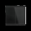 Corlo M2-T Interruttore Doppio, nero/nero opaco (70341)