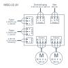 IMSG-UC-2H schema di collegamento