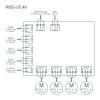IMSG-UC-4H schema di collegamento