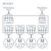 WG-N-GS-4 schema di collegamento