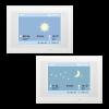 KNX Touch One Style, Visualizzazione meteorologici pioggia/notte