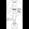 KNX R1-B4 compact schema di collegamento