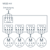 WGGS-4-H schema di collegamento