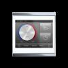 Corlo Touch KNX (WL), bianco/cromato lucido