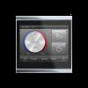 Corlo Touch KNX (WL), nero/cromato lucido