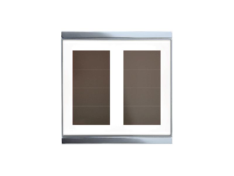 Corlo P1 RF Taster, weiß/glänzend (70290)
