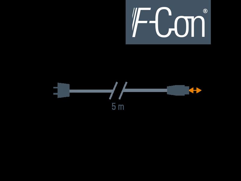 Linea de alimentación 5 m STAK3