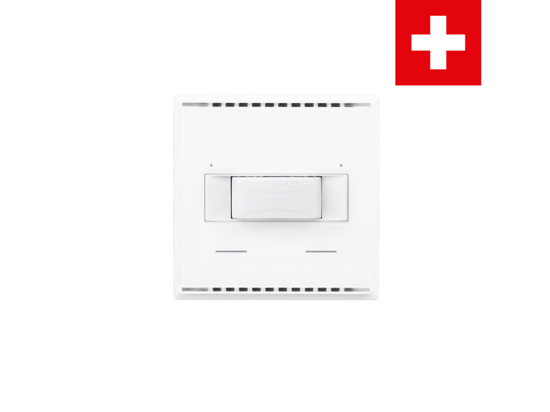 KNX T-L-Pr-UP Touch CH, blanco puro RAL 9010