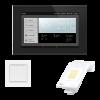 WS1000 Connect: centro de control, sensor interior, estación meteorológica