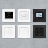 Controladores y pulsadores de la habitación de la serie Cala