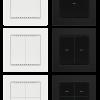 Cala KNX M-T con marco (no incluido en el suministro)