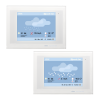 KNX Touch One Style, Weather display rain/snow