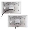 Posibilidades de tendido de cables en una caja o montaje en superficie